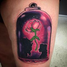 The rose from Beauty and the Beast.