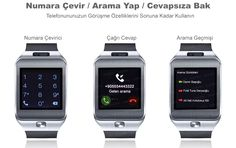 Dark SW04 Smart Design Android ve IOS Uyumlu Akıllı Saat :: 3E5EAL