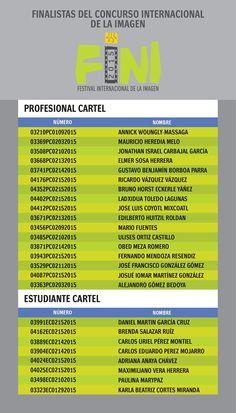 """RT @finimx """"Los finalistas de #cartel del #Concurso del  #FINI2015. """""""