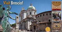 A Brescia le guide turistiche cittadine garantiscono a turno unservizio di visite guidate alla città e al Museo di Santa Giuliaad orari stabiliti - in italiano e/o inglese - per coloro che si presenteranno presso l'Infopoint Centro di via Trieste.