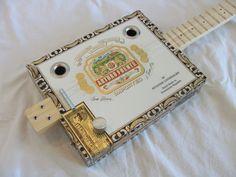 Cigar Box Guitar  3 String  Arturo Fuente by NashvilleCBG on Etsy, $135.00