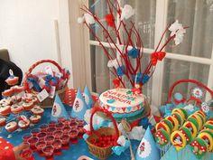 Festa de aniversário; Tema Capuchinho vermelho (2012)