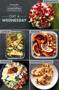 Day 4 Of BuzzFeed's 7-Day Clean Eating Challenge