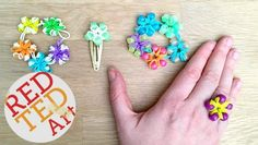 Loom Bands Flowers -