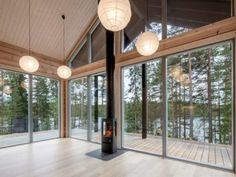 pluspluu log cabin kit homes 6 Cabin Kit Homes, Log Cabin Kits, Log Homes, Log Cabins, Cabin Plans, Tiny Homes, House Plans, Architecture Design, Scandinavian Architecture