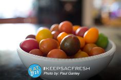 Awesome fresh local finds in Sacramento. Way to #Keepsacfresh Paul!