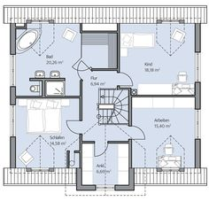 Kundenreferenz Haus Denker - BAUMEISTER-HAUS® Kooperation e.V. Architecture, Bookshelves, House Plans, Floor Plans, Home And Garden, House Design, How To Plan, Cube, Buildings