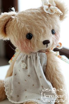 cutest girl teddy bear