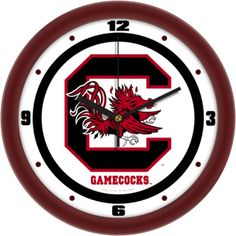 South Carolina Gamecocks Traditional 12 inch Wall Clock