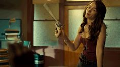 """""""Peacemaker, which only I can handle..."""" Such a great show! #WynonnaEarp S1E2"""