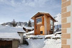 Beyond the Cliché: the mountain chalet reinterpreted