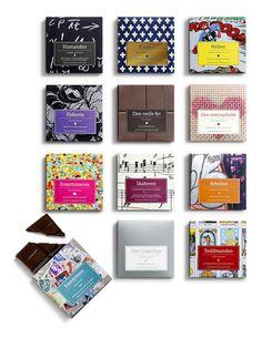 Chocolates with attitude 2010 by Bessermachen DesignStudio, via Behance