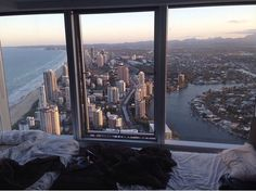 dream would be to live in a NY apartment with a huge window and a view like this