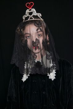 Meadham Kirchhoff at London Fall 2013 (Backstage)