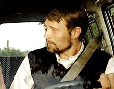 Murder!Dad Hannibal driving little Abigail to elementary school