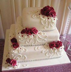 Decoración Torta de Novia