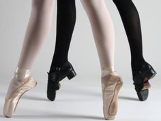 "Who says ballerinas are the only ones who dance ""en pointe""?"