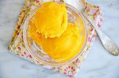 mango sorbet #sorbet