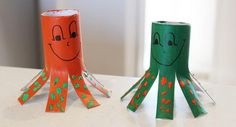 13 octopus craft http://hative.com/homemade-animal-toilet-paper-roll-crafts/