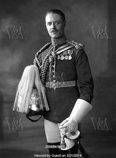 Viscount Althorpe, later Earl Spencer, (1892-1975), photo Lafayette Portrait Studios. Photography. London, England, 1921.