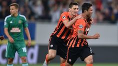 Shakhtar advance after surviving Rapid storm Shakhtar Donetsk Rapid Wien European Cup, Uefa Champions League, History, Photos, Historia, Pictures