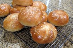 Homemade Sandwich Buns for Pulled Pork Barbecue