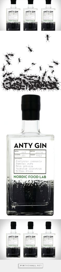 Anty Gin — The Dieline - Branding & Packaging - created via http://pinthemall.net