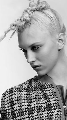 Collier Schorr - Self Service Magazine - For more fashion trend forecasting, check out Trendstop.com