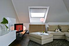 Come arredare una #mansarda #attic #interiors
