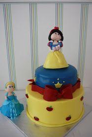 Bricoazucar: Tarta de Princesas Disney