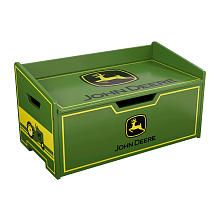 John Deere Toy Box I want it big enough for both boys to sit on to but there boots on!