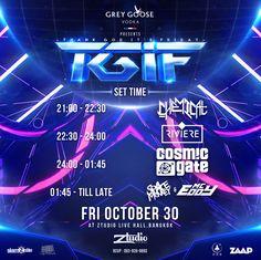 TGIF : Thank God It's Friday | COSMIC GATE - SET TIME -