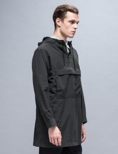 Maiden Noir Nylon Pop-Over Jacket Model Picture