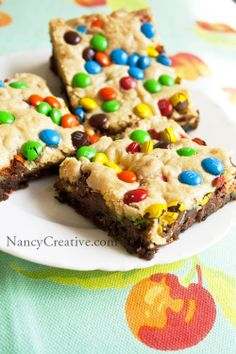 CHOCOLATE CHIP CONFETTI BROWNIES