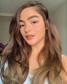 Filipina Actress, Filipina Girls, Diy Haircut, Skin Care Routine 30s, Super Long Hair, Asian Makeup, New Hair Colors, Hair Transformation, Hair Lengths