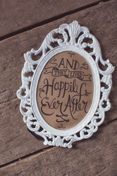 """""""And they lived happily ever after."""" ~Signed by Soden"""