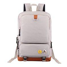 004c74ba4394 Deer Mum Classic Vintage Fashion Unisex Rucksack Laptop Backpack Daypack  Shoulder Bag Pack for School Camping Travel (Black)