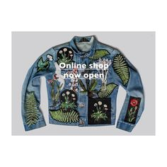 Limited edition embroidery | Ellie Mac Embroidery Ellie And Mac, Fabric Manipulation, Instagram Story, Motorcycle Jacket, Jumper, Shop Now, Patches, Branding, Embroidery