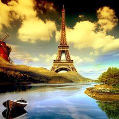 de Eiffel Tower