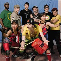 "One of the best live bands there is: self-described ""Gypsy Punk"" band Gogol Bordello."