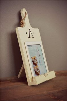 iPad and Cookbook Stand Holder iPad Accessory on Etsy, $39.00