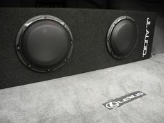 This JL Audio Dual 8W3v3 Microsub+ is definitely going to add some bump to this Lexus!