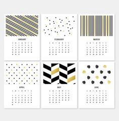 Calendário 2017 para baixar, imprimir gratuitamente - download free - Draw to DIY
