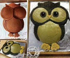 Bilderesultat for owl cake