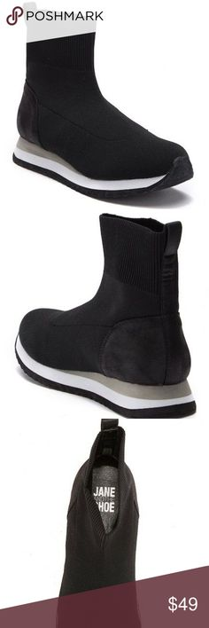 a894c9f7f8d NIB JANE  amp  THE SHOE Nordstrom Kailee Sneaker Boot Brand New in Box JANE  AND