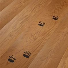 Available in a wide range of woods, colours, finishes and designs, this imprinted bas-relief design flooring is from Italian manufacturer Cadorin.