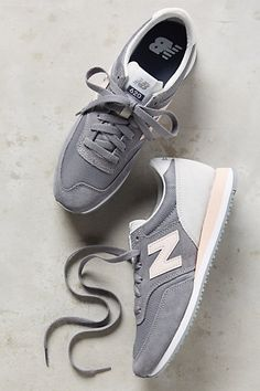 new balance trainers grey and pink