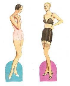 Miss Missy Paper Dolls: Great Fashion Designs of the 1930s