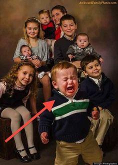 Always misunderstood. | 18 Photos Of Middle Children Being Middle Children