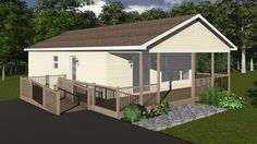 Water's Edge Accessible Home Floor Plan | Mini Homes | Home Designs